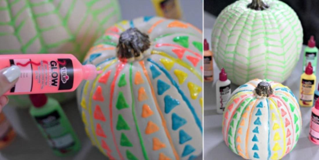 Learn hot easily do Glow-in-the-Dark Pumpkins