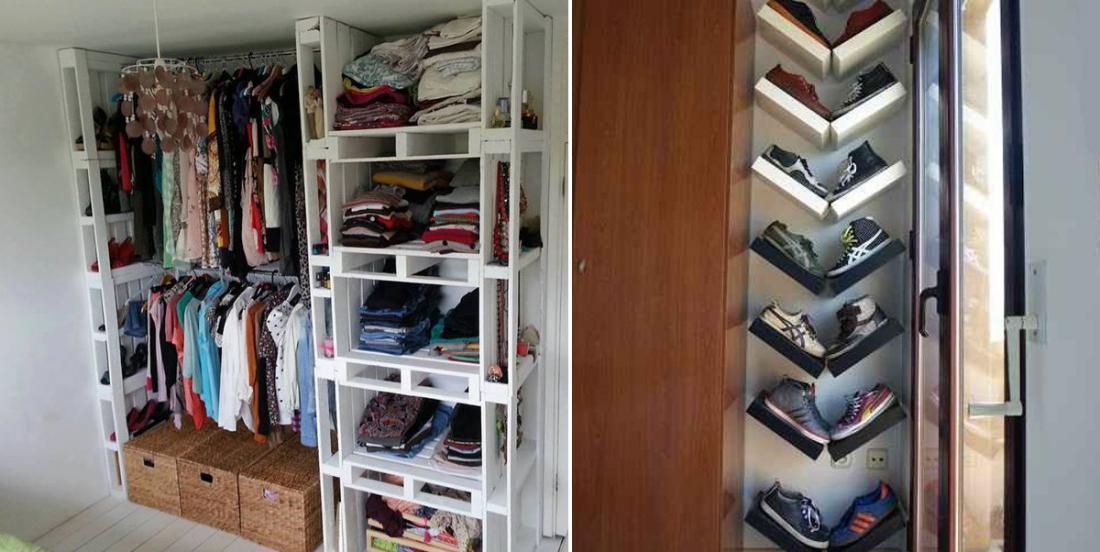9 creative ideas to organize your wardrobe