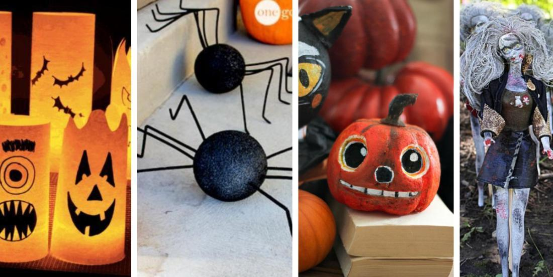14 beautiful DIY Halloween decorations