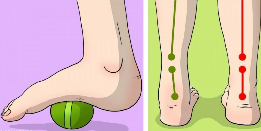 Six exercises to get rid of knee and foot pain forever