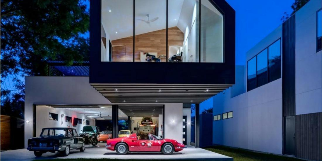 This is the perfect house for car lovers.