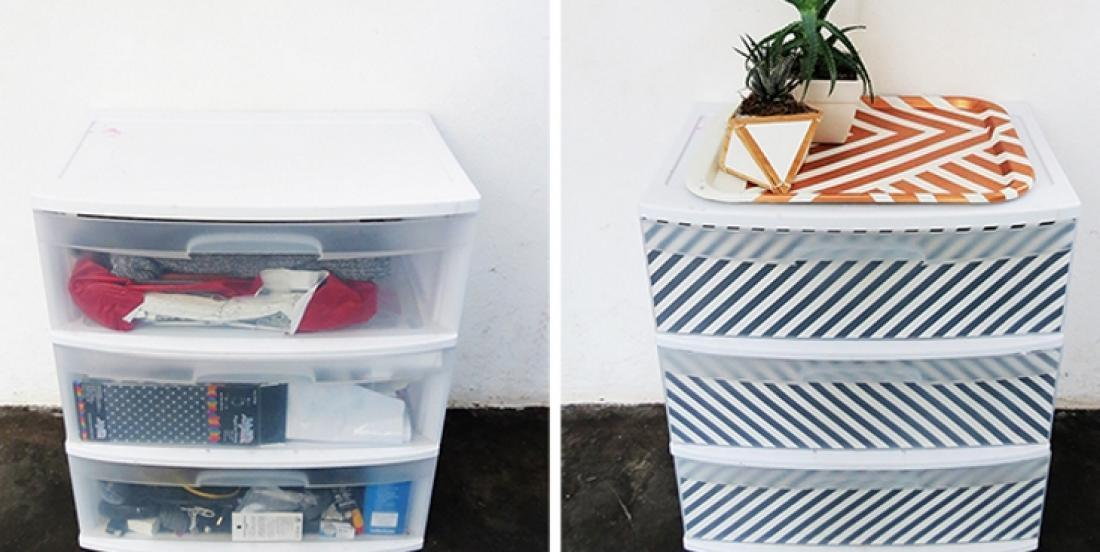 13 storage tricks to make with plastic boxes on wheels
