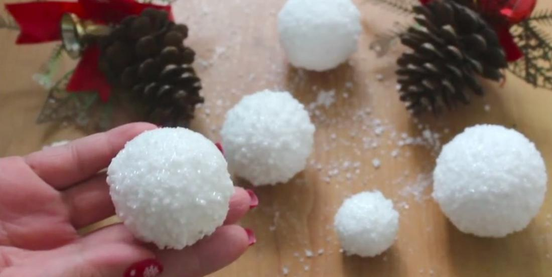 Learn how to make beautiful snowballs