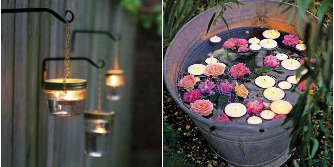 Admire these 20 beautiful ways to light up your garden at night
