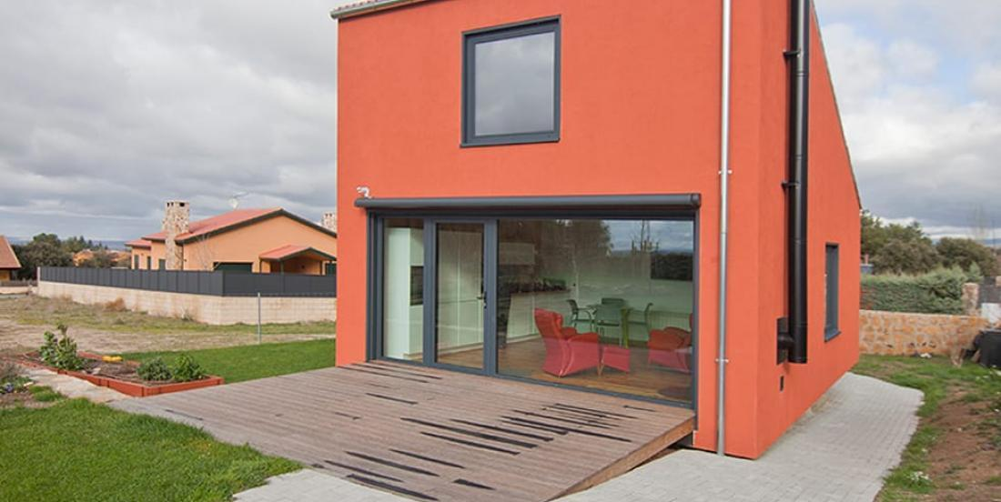 Small but surprising; this house of 65 square meters is built in 45 days!