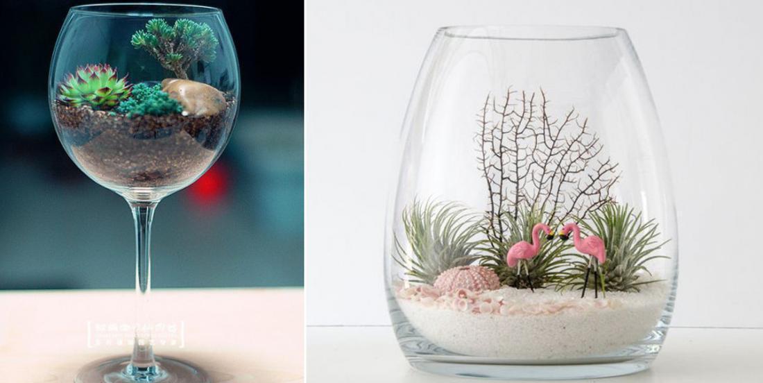 20 creative ideas to make a terrarium