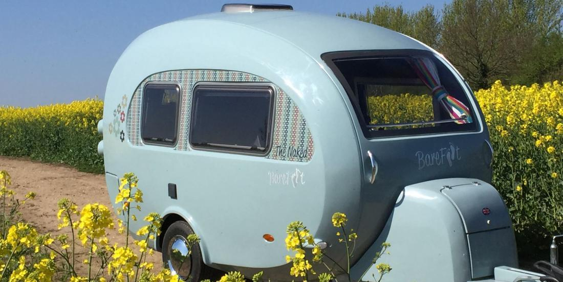 Would you like to go camping with this little trailer?