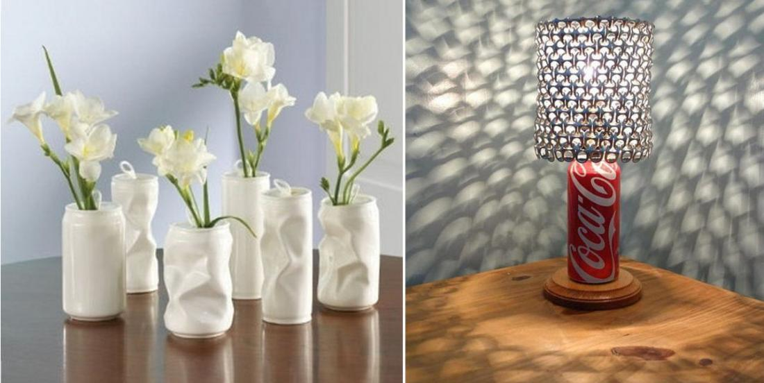 20 creative ideas to do with recycled cans!