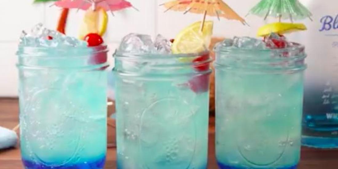 This Mermaid-lemonade is ready in only 10 minutes