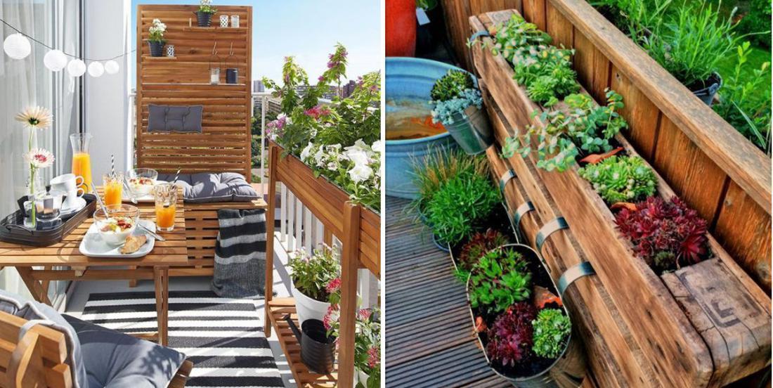 16 wonderful ways to arrange your balcony