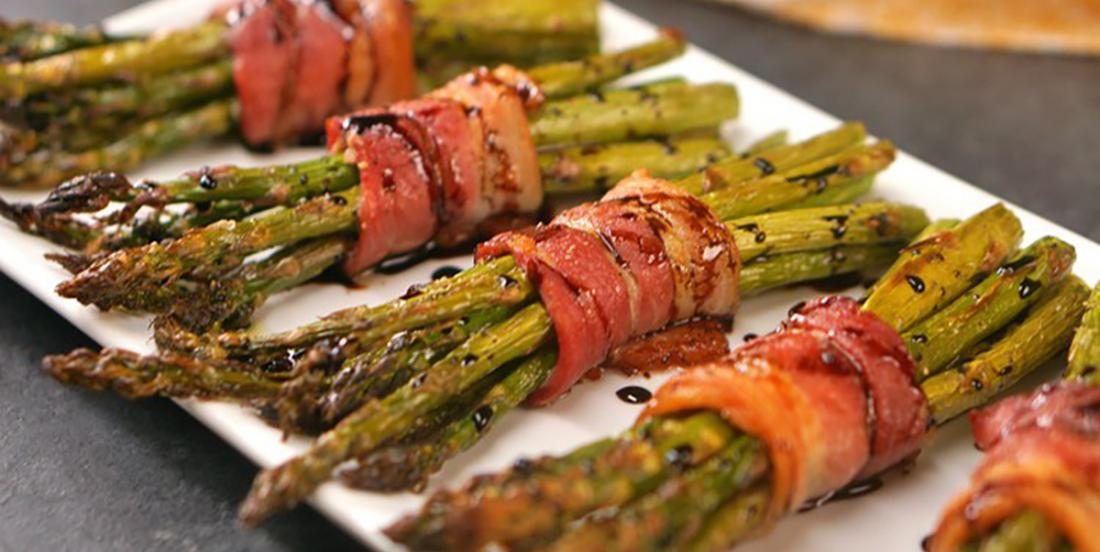 These asparagus with balsamic vinegar recipe is fantastic for the grill