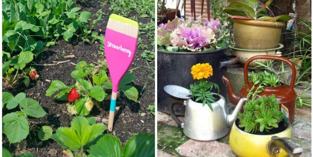 Here are 26 original ideas to recycle your old kitchen accessories