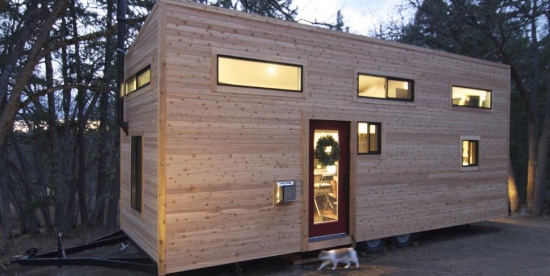 Take a tour of this tiny home and discover a unique interior.
