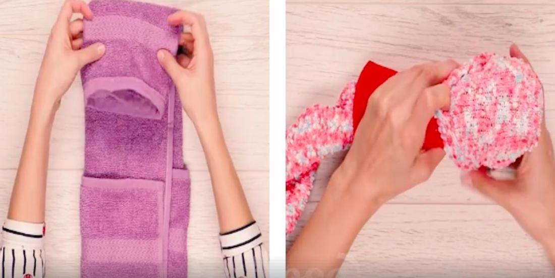 This woman shows us 6 tips to pack things for a trip