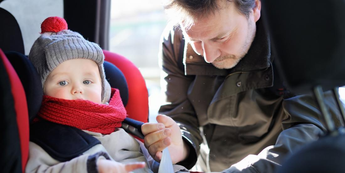 Caution: The dangers of letting your child wear a winter coat in the car