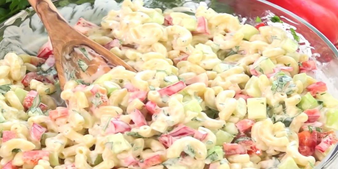 The best macaroni salad I ever made!