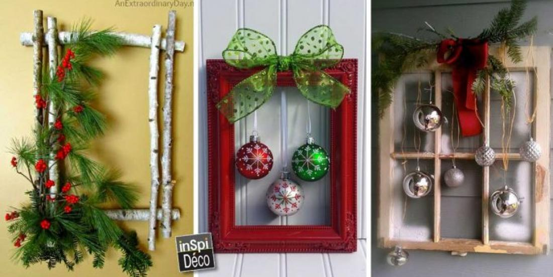 Christmas frames are a must-have for 2019. Here are 20 ideas to make yours.