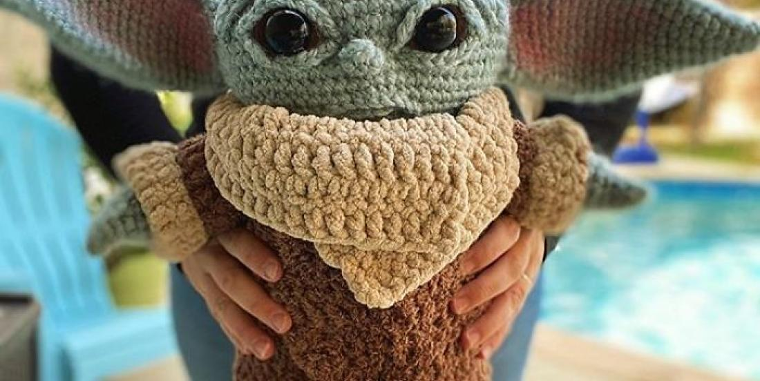You can crochet your own Baby Yoda!