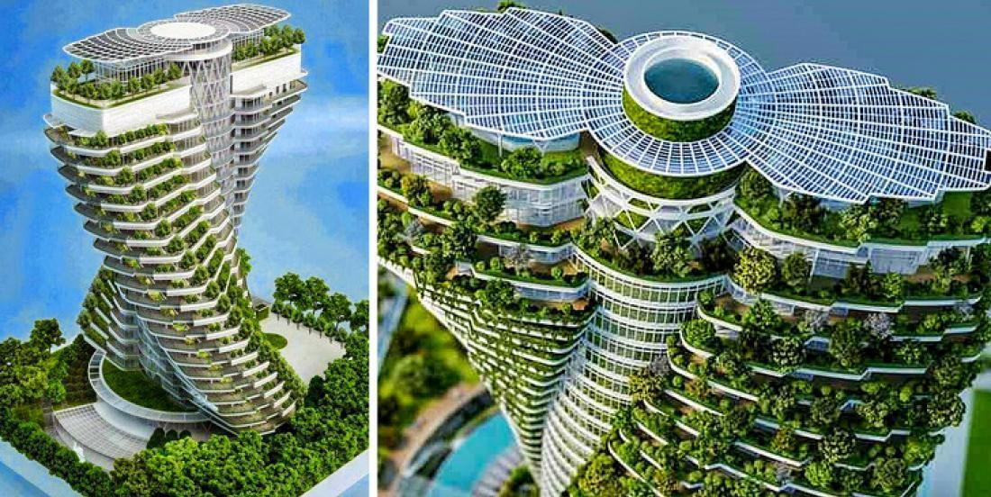 13 breathtaking skyscrapers from all around the World.