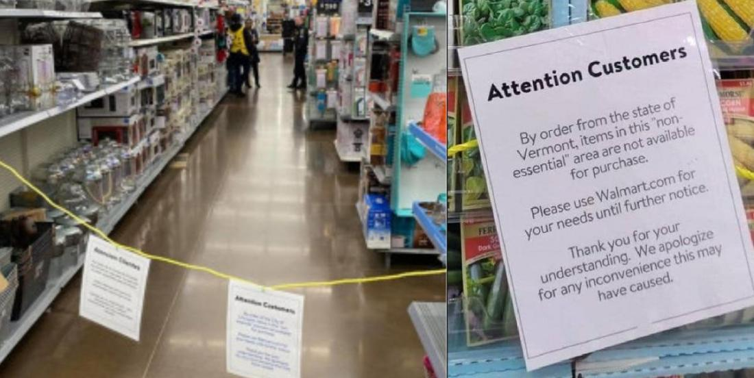 Walmart, Costco, Target will stop selling 'nonessential' items such as clothing and electronics in some U.S. States!