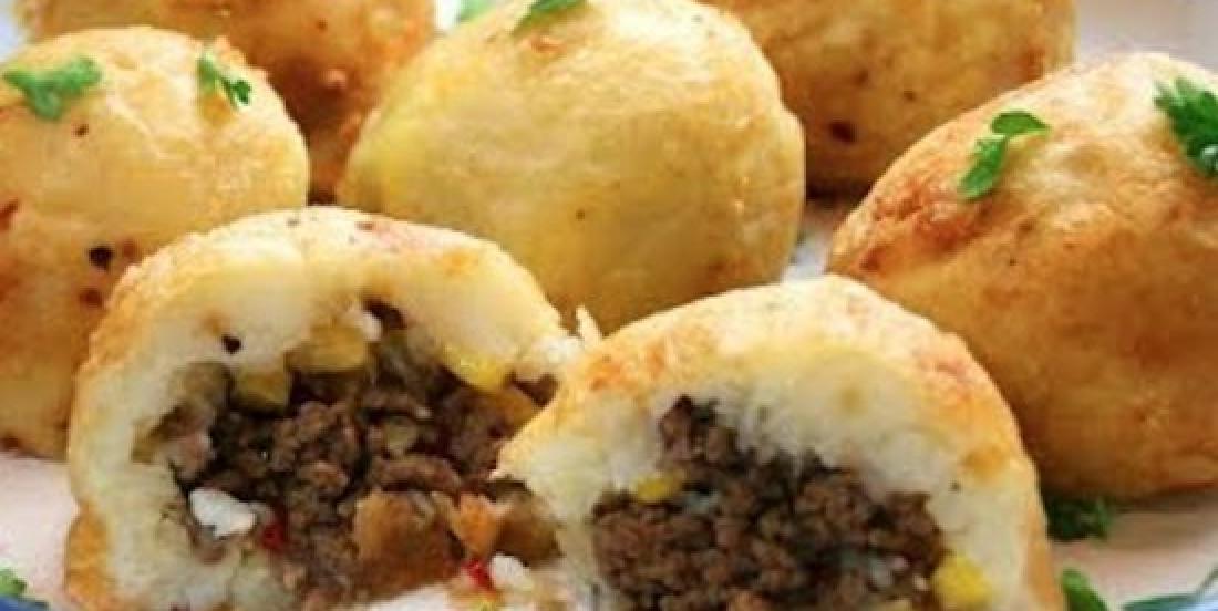 Make Stuffed Mashed Potato Bombs For Dinner! Yummy!