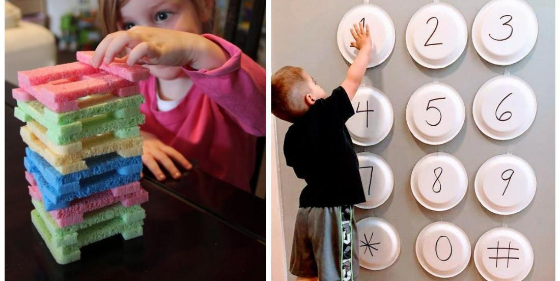 10 cheap ways to keep the kids busy at home.