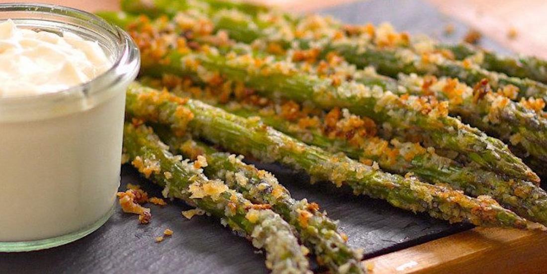 Crispy Roasted Parmesan Asparagus Recipe