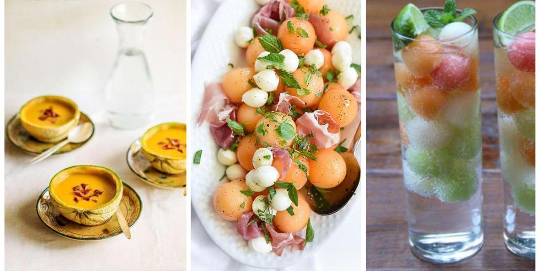 8 easy and creative melon recipes.
