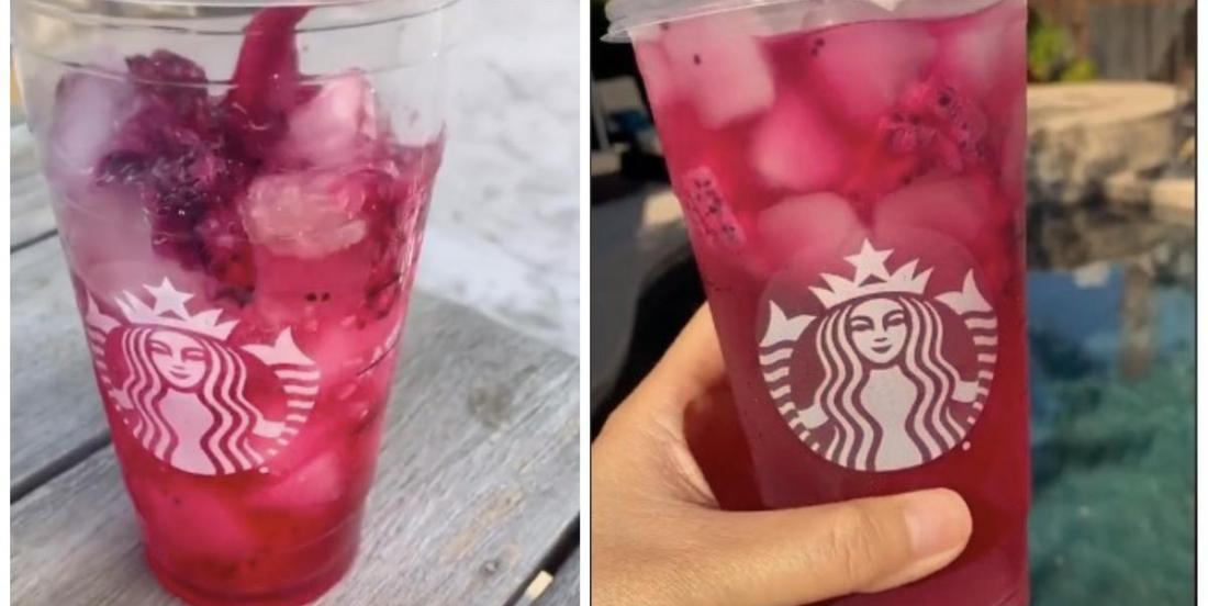 This copycat Starbuck's refresher recipe is perfect for hot summer days!