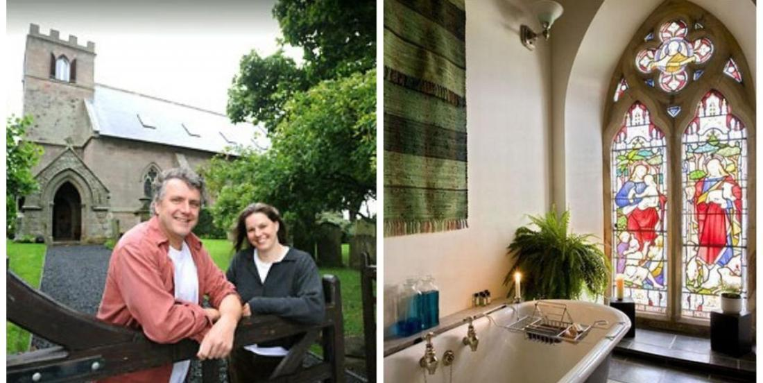 A couple transformed a 1790 church into a lovely home!