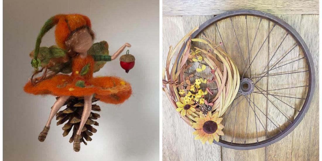 12 rustic DIY fall home decorations!