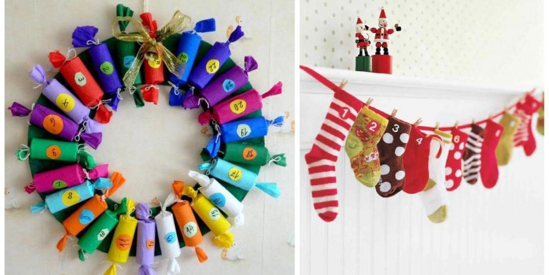 DIY: two creative and easy advent calendar ideas!