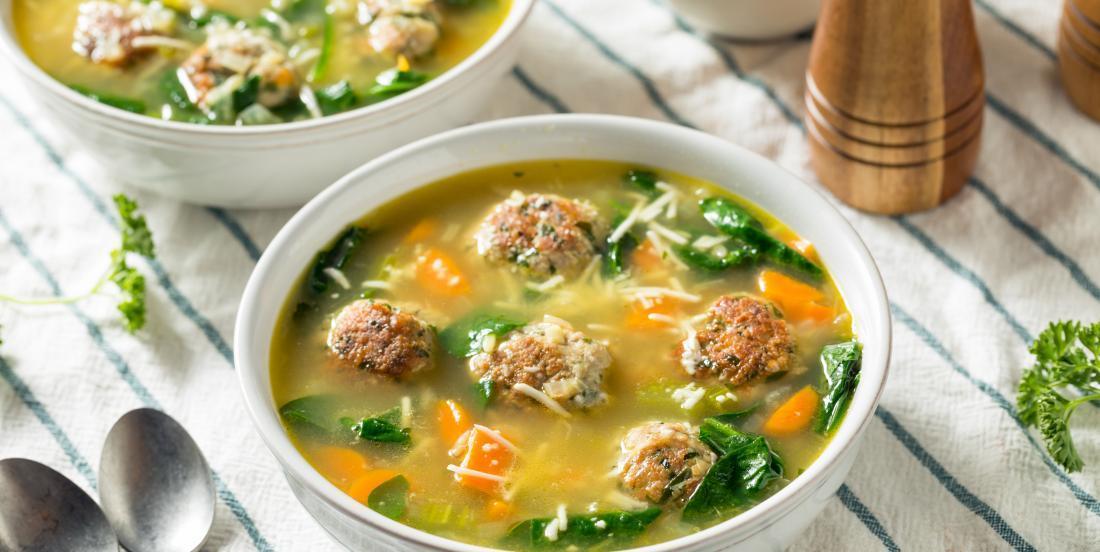 A Classic Recipe: Italian Wedding Soup.