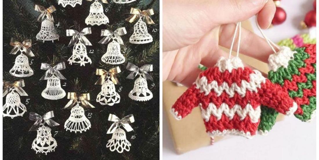 Christmas 2020 : DIY crochet ornaments!