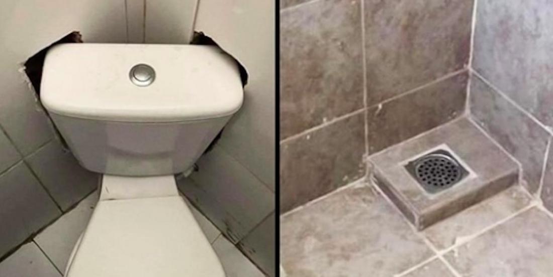 15 very surprising bathroom designs.