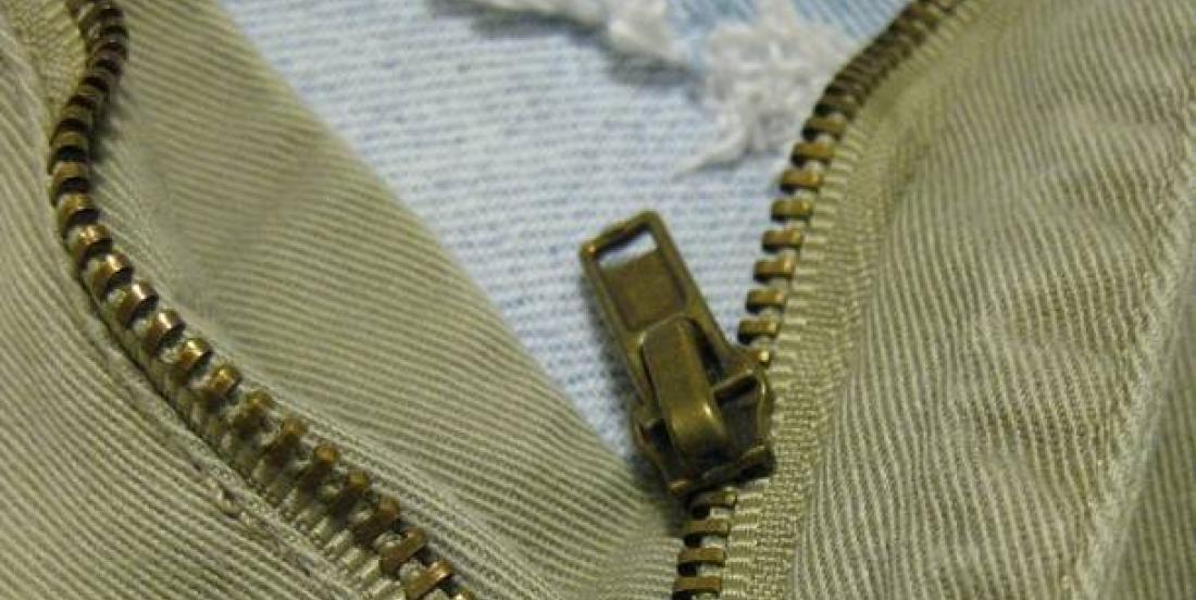 How to quickly repair a broken zipper.