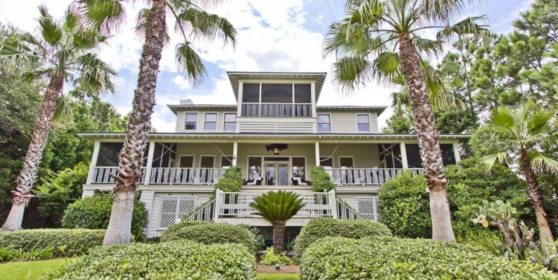 Take a look inside Sandra Bullock's beautiful Georgia's house.