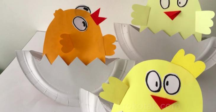 Create Cute Paper Chicks For Easter Crafts Tips And Crafts