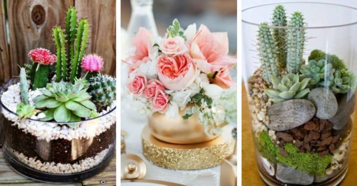 12 DIY centerpiece ideas to decorate the house