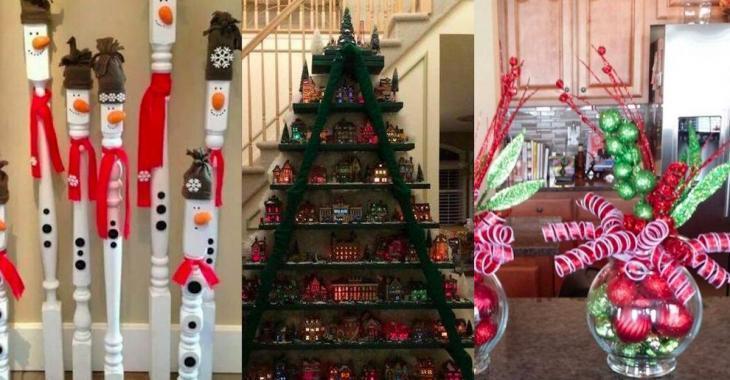 12 brilliant Christmas decorations ideas!